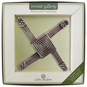 Royal Tara St Bridgets Cross-Bronze Gallery CS-0084-3 ExclusivelyIrish.com