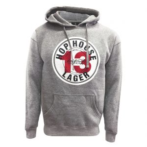 Grey Guinness Hop House Lager Hoodie GIM5003 ExclusivelyIrish.com