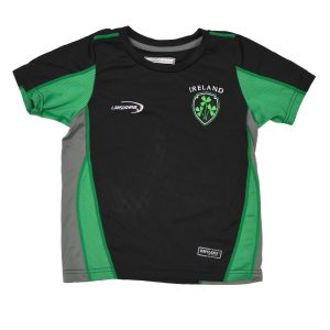 Traditional Craft Limited Lansdowne Black Ireland Kids Performance T-Shirt R7175 ExclusivelyIrish.com