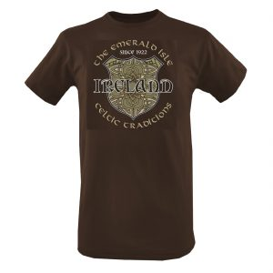 Chocolate Ireland the Emerald Isle T-Shirt T1313 ExclusivelyIrish.com