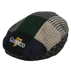 Traditional Craft Limited Guinness Patch Tweed Flat Cap G6035 ExclusivelyIrish.com