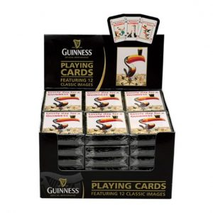Guinness Gilroy Playing Cards