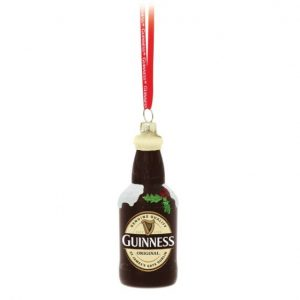 Guinness Harp Glass Decoration