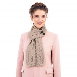 Saol Aran Loop Scarf SA196 ExclusivelyIrish.com