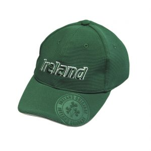 Traditional Craft Limited Emerald Ireland Badge Child's Baseball Cap R6046-OS ExclusivelyIrish.com