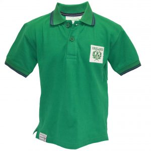 Traditional Craft Limited Emerald Ireland Pique Kids Short Sleeve Polo Shirt R7183 ExclusivelyIrish.com