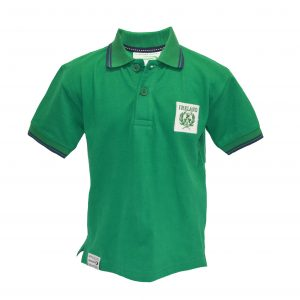 Emerald Ireland Pique Kids Short Sleeve Polo Shirt R7183 ExclusivelyIrish.com