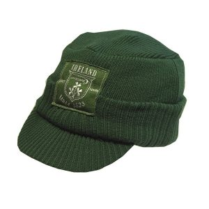 Traditional Craft Limited Green Ireland Embroidery Patch Hat R6081-OS ExclusivelyIrish.com