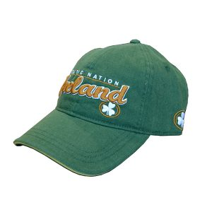 Traditional Craft Limited Green/Gold Celtic Nation Baseball Cap R6135-OS ExclusivelyIrish.com