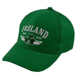 Traditional Craft Limited Green Ireland Limited Edition Kids Baseball Cap T7382-OS ExclusivelyIrish.com