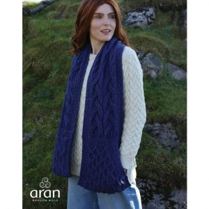 Stole with Pockets Ink B684576-OS ExclusivelyIrish.com