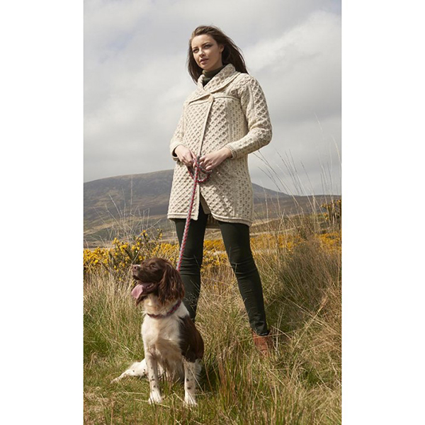 Completely new Two Tone Merino Wool Coat | Irish Central Shop UI04