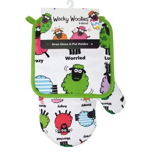 Shamrock Gift Company Wacky Woolies Sheep Oven Glove and Pot Holder ExclusivelyIrish.com