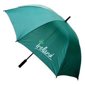 Shamrock Gift Company Ireland Umbrella Green ExclusivelyIrish.com