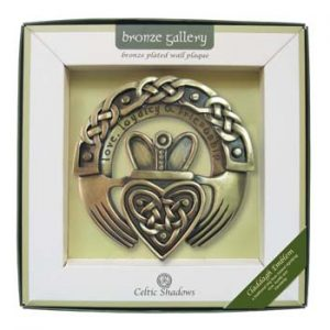 Royal Tara Claddagh Emblem Plaque CS-0084-11 ExclusivelyIrish.com