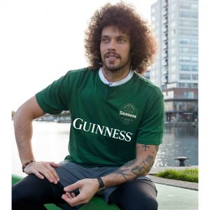 Bottle Black Guinness Performance Short Sleeve Rugby G3069 ExclusivelyIrish.com