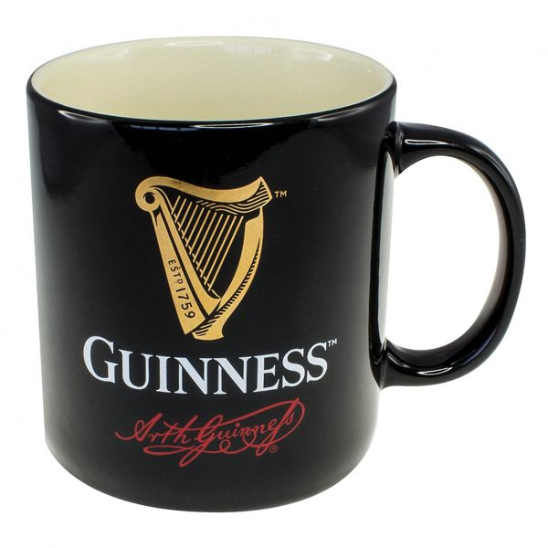 Shamrock Gift Co Guinness Red Signature Coffee Mug GNS2668 ExclusivelyIrish.com