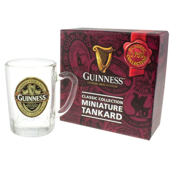 Guinness 2017 Ruby Red Collection Mini Tankard Colour Filled GNS5605 ExclusivelyIrish.com