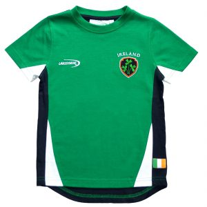Lansdowne Emerald Ireland Crest Kids T-Shirt R7169 ExclusivelyIrish.com