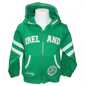 Lansdowne Emerald Ireland Full Zip Baby Hoodie R7173 ExclusivelyIrish.com