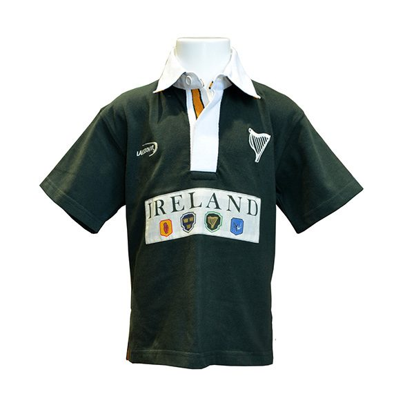 new style 157eb f6040 Kids Ireland Rugby Sports Top