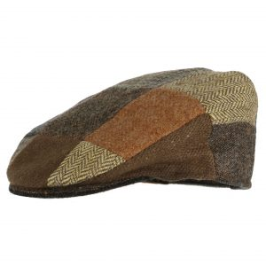 Hanna Hats Vintage Tweed Childrens Patch Cap VC1 ExclusivelyIrish.com
