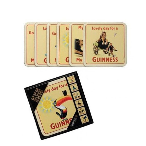 Guinness Cork Backed Coasters