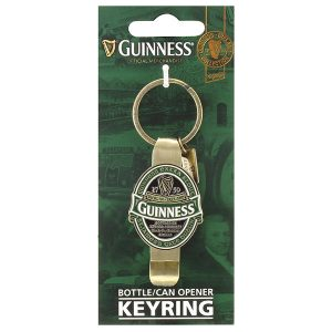 GNS5349 Guinness Ireland Bottle and Can Opener Keyring exclusivelyirish.com