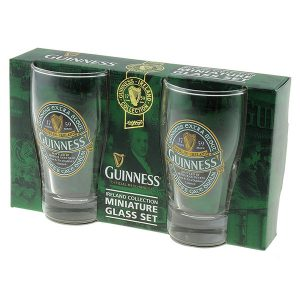 GNS5342 Guinness Ireland Mini Pint Shot Glass Set exclusivelyirish.com