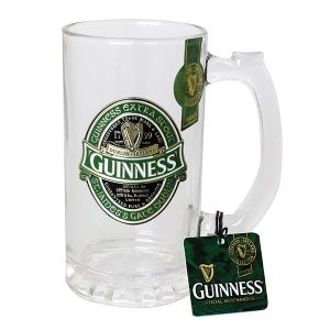 GNS5340 Guinness Ireland Tankard with Metal Badge exclusivelyirish.com