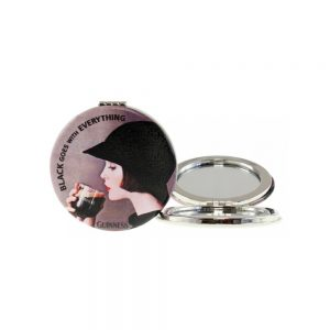 Guinness Lady Compact Mirror