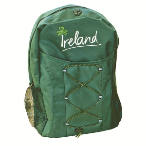 Shamrock Gift Company Ireland Travel Backpack Exclusively.com