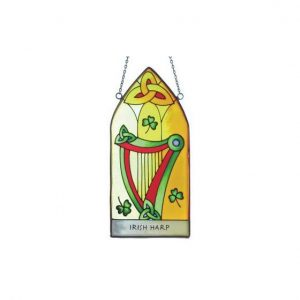 Irish Harp Gothic Panel Royal Tara