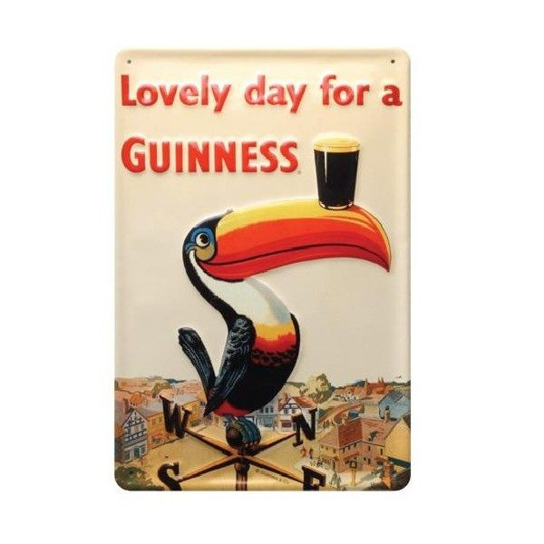 GNS5244 Lovely Day For A Guinness Wall Art exclusivelyirish.com