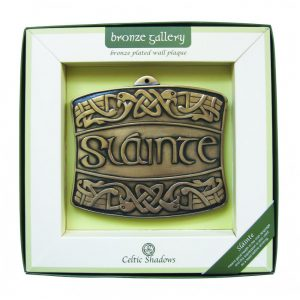 Royal Tara Slainte Plaque CS-0084-2 ExclusivelyIrish.com