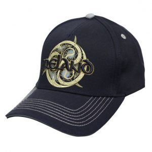 T6141-OS Navy Ireland Celtic Swirl Baseball Cap exclusivelyirish.com