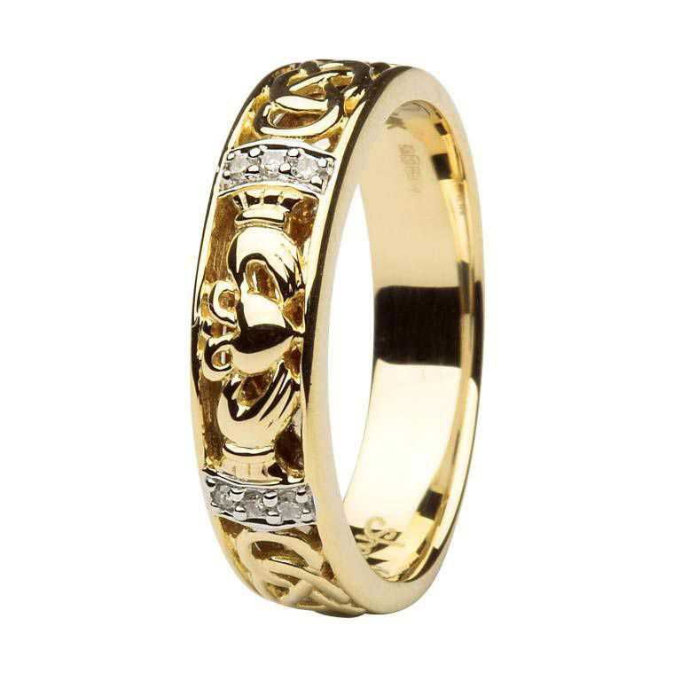 plain ring jeweller wedding rings claddagh irish gold