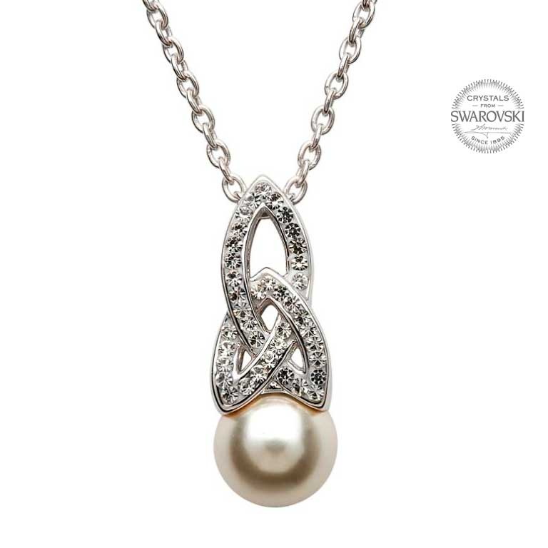 necklace silver by claudetteworters original pendant in worters pearl product claudette
