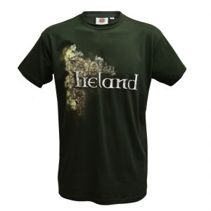 Traditional Craft Limited Bottle Green Celtic Ireland Men's T-Shirt T1304 ExclusivelyIrish.com