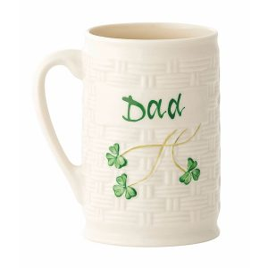 Belleek Dad Mug ExclusivelyIrish.com