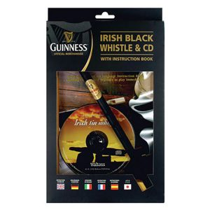 GNS2313 Guinness Whistle Book & CD exclusivelyirish.com