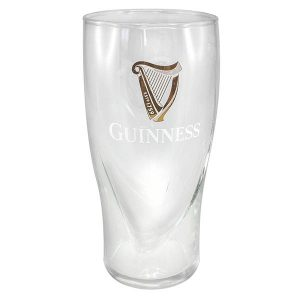 GNS2563 Guinness Embossed Pint Glass exclusivelyirish.com