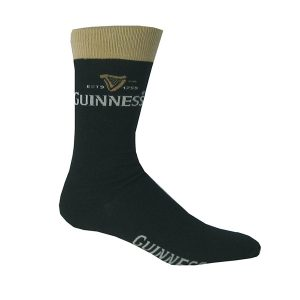 Traditional Craft Limited Black Guinness Signature Pint Socks G9041 ExclusivelyIrish.com