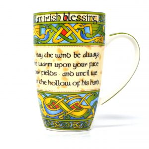 Royal Tara Irish Blessing Mug - Irish Weave CL-73-1 ExclusivelyIrish.com