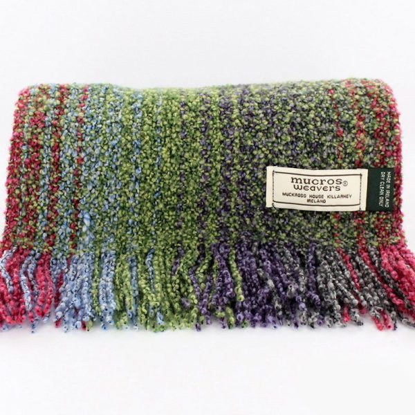 Muckross Weavers Skellig Multi-Colored Scarf MWV16 ExclusivelyIrish.com