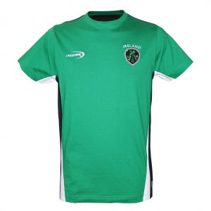 Traditional Craft Limited Lansdowne Emerald Green Ireland Crest T-Shirt R1039 ExclusivelyIrish.com