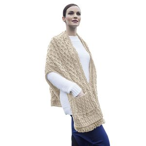 Womens Ponchos, Capes and Shawls | Irish Central Gift Store