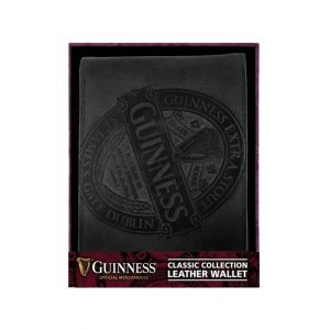 GNS5622 Guinness Ruby Red - Leather Wallet Black