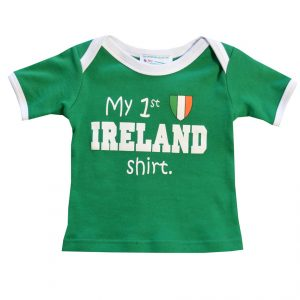 Traditional Craft Limited Baby First Ireland Shirt R7125 ExclusivelyIrish.com